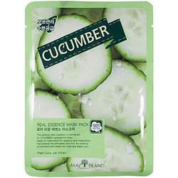 Тканевая маска с огурцом May Island Real Essence Cucumber Mask Pack