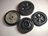 Колесо на компрессор 13*119 мм (усилен. пластик), фото 2