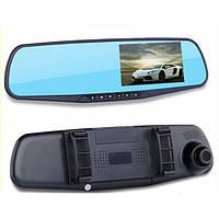 Автомобильный видеорегистратор зеркало с камерой DVR Full HD авторегистратор