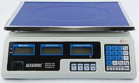 Весы торговые товарные электронные Alfasonic до 40 кг