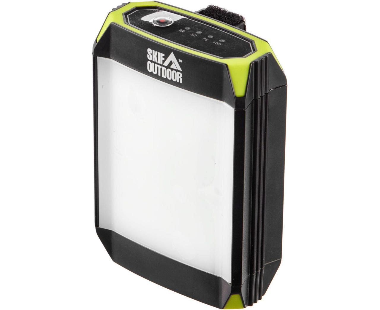Фонарь кемпинговый SKIF Outdoor Light Shield ц:black/green (389.00.23)