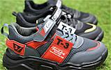 Стильные детские кроссовки Adidas T-3 Grey Rad р31-35, копия, фото 2
