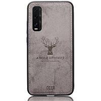 Чехол Deer Case для Oppo Find X2 Grey