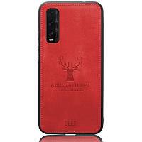Чехол Deer Case для Oppo Find X2 Red