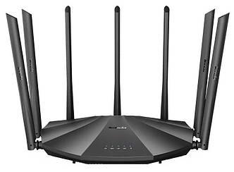WIFI маршрутизатор  TENDA AC23 черный для дома и офиса мощный, гигабитный  вай-фай,роутер 