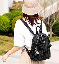 Стильный женский рюкзак. Кожаная сумка-портфель. Кожаный рюкзак. РД1