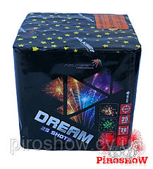 Салют DREAM 25 выстрелов 20 калибр | Фейерверк GP498 Maxsem