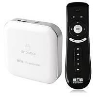 КОМПЛЕКТ Freelander Android tv box Mini PC + 2.4G Air Mouse, фото 1