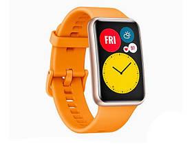 Розумні годинник Huawei Watch Fit Помаранчеві