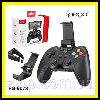 Безпровідний геймпад джойстик iPega PG-9078 для смартфонів, PC, TV, VR Box, PS3, Android/iOS Black