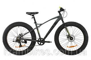 """Велосипед Formula - Paladin DD (2020) (26""""-17"""") Серый/Салатовый"""