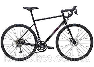 "Велосипед Marin - NICASIO (2021) (28""/700c-52см) Gloss Black/Pink"