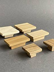 Мебельная ручка деревянная (Квадратная/Прямоугольная)
