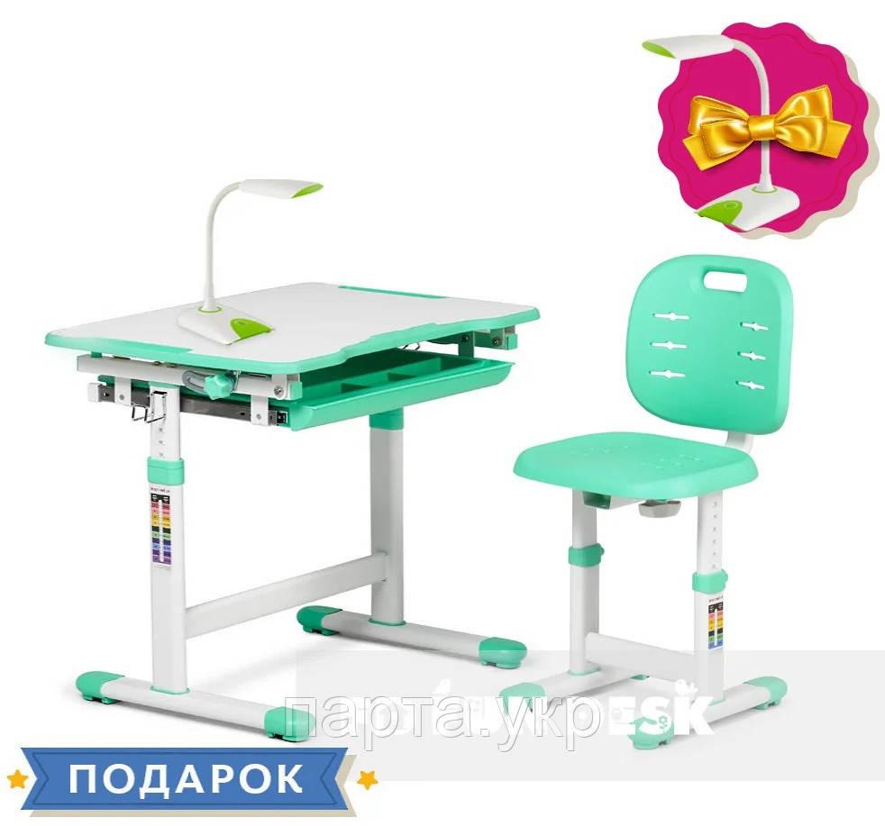 Комплект Piccolino 3, парта і стілець трансформери , 4 кольори