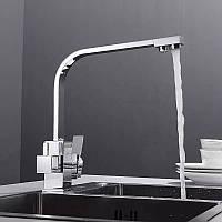 Смеситель для кухни WanFan, для горячей и холодной воды, 2 вида подачи воды, отверстия для фильтрованной воды,