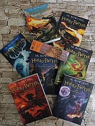 """Набір книг """"Harry Potter"""", """"Гаррі Поттер"""" Дж. К. Роулінг англійською мовою (Комплект - 7 книг)"""