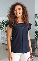Блуза с планкой летняя  080 / 05, фото 1