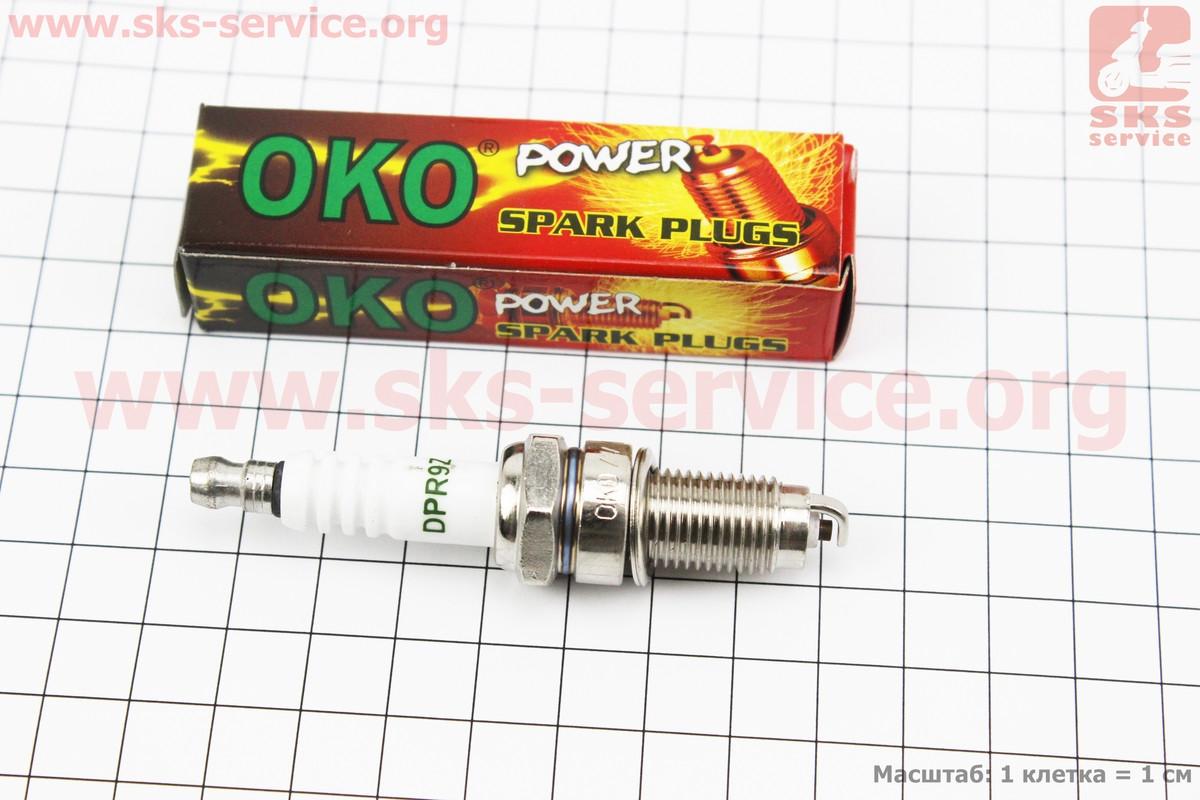 Свічка 4Т DPR9Z - M12 L20 - CG/CB/CH250/YP250 (OKO) (337540)