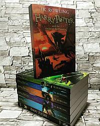 Книги Гаррі Поттера Джоан Роулінг, Harry Potter англійською мовою, повний набір 8 книг