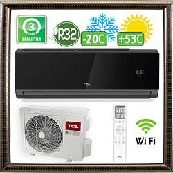 Кондиціонер TCL TAC-12CHSD/XA82I Black до 40 кв. м. Inverter R32 Wi-Fi Ready (до -20С)