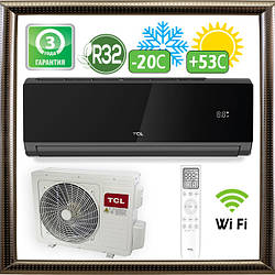 Кондиціонер TCL TAC-09CHSD/XA82I Black до 30 кв. м. Inverter R32 Wi-Fi Ready (до -20С)