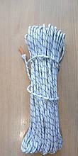 Верёвка капроновая П/А плетёная д.6мм(50м)