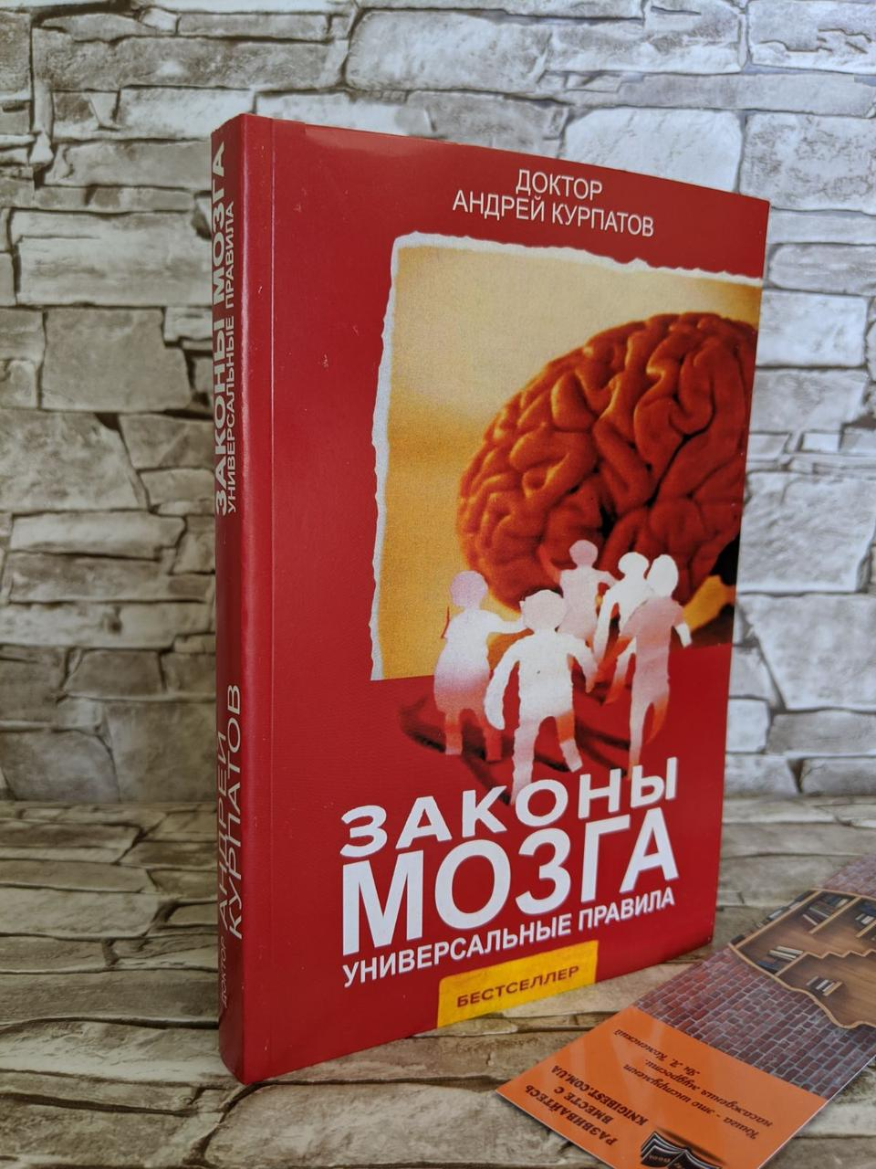 """Книга """"Законы мозга"""" Андрей Курпатов (газ)"""