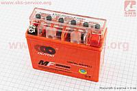 Аккумулятор 7Аh MOTO 12N7BL-BS гелевый (L145*W60*H130mm), 2021 (348111)