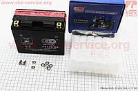 Аккумулятор 10Аh YT12B-BS кислотный (L150*W70*H130mm), 2021 (348135)