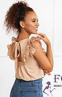 Легка жіноча блуза з рюшами 023 В/01, фото 1