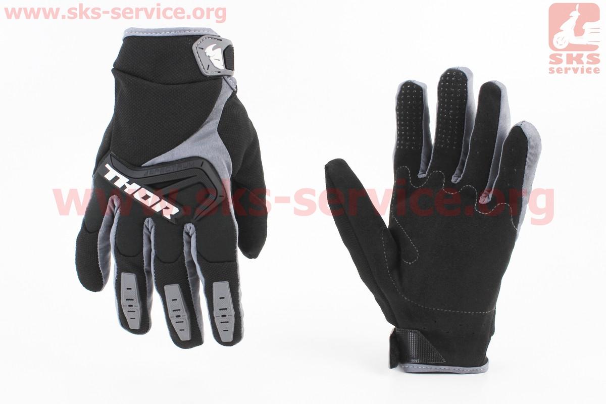 Мотоциклетні рукавички M-чорні (354095)