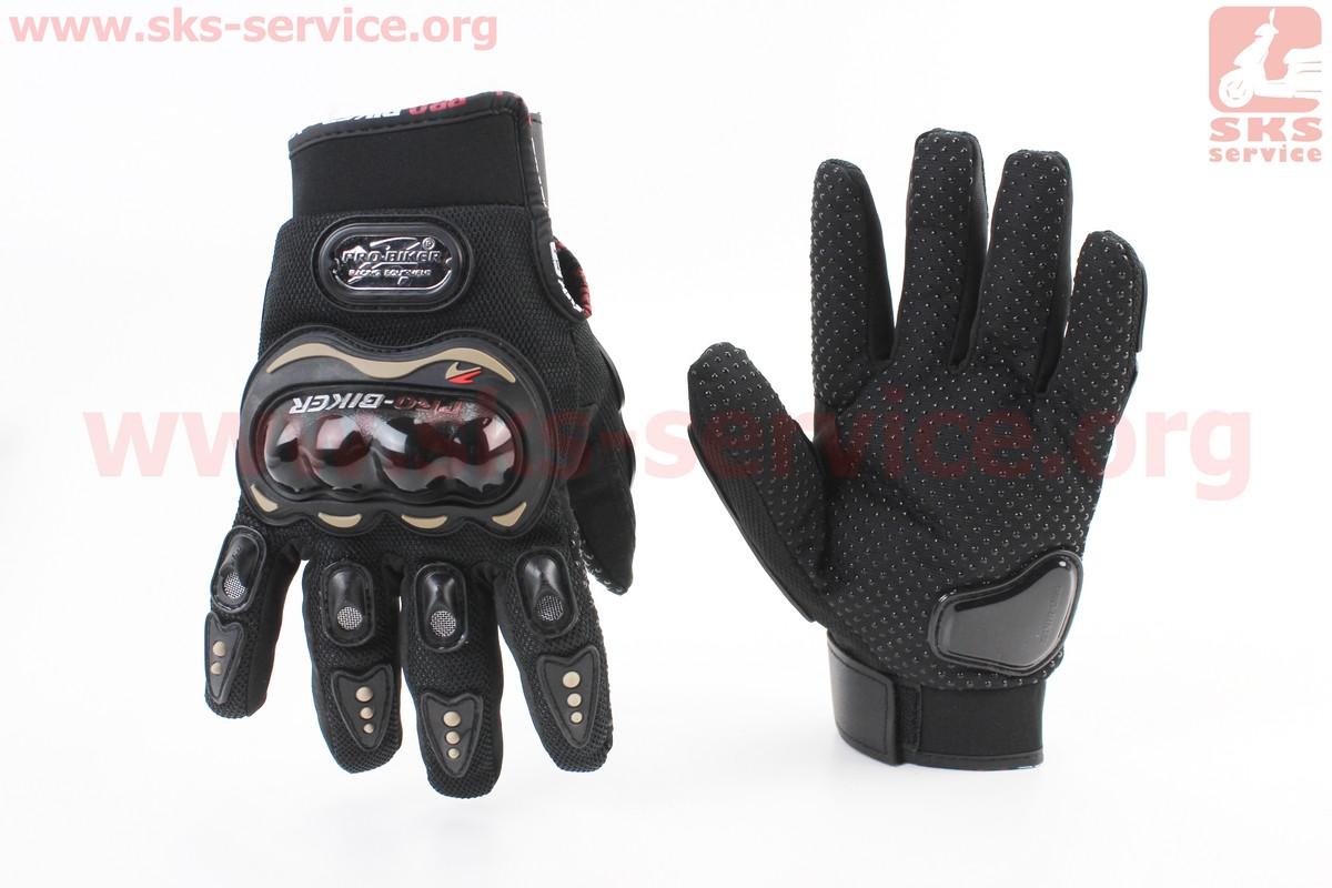 Мотоциклетні рукавички XL-чорні, тип 2 (355002)