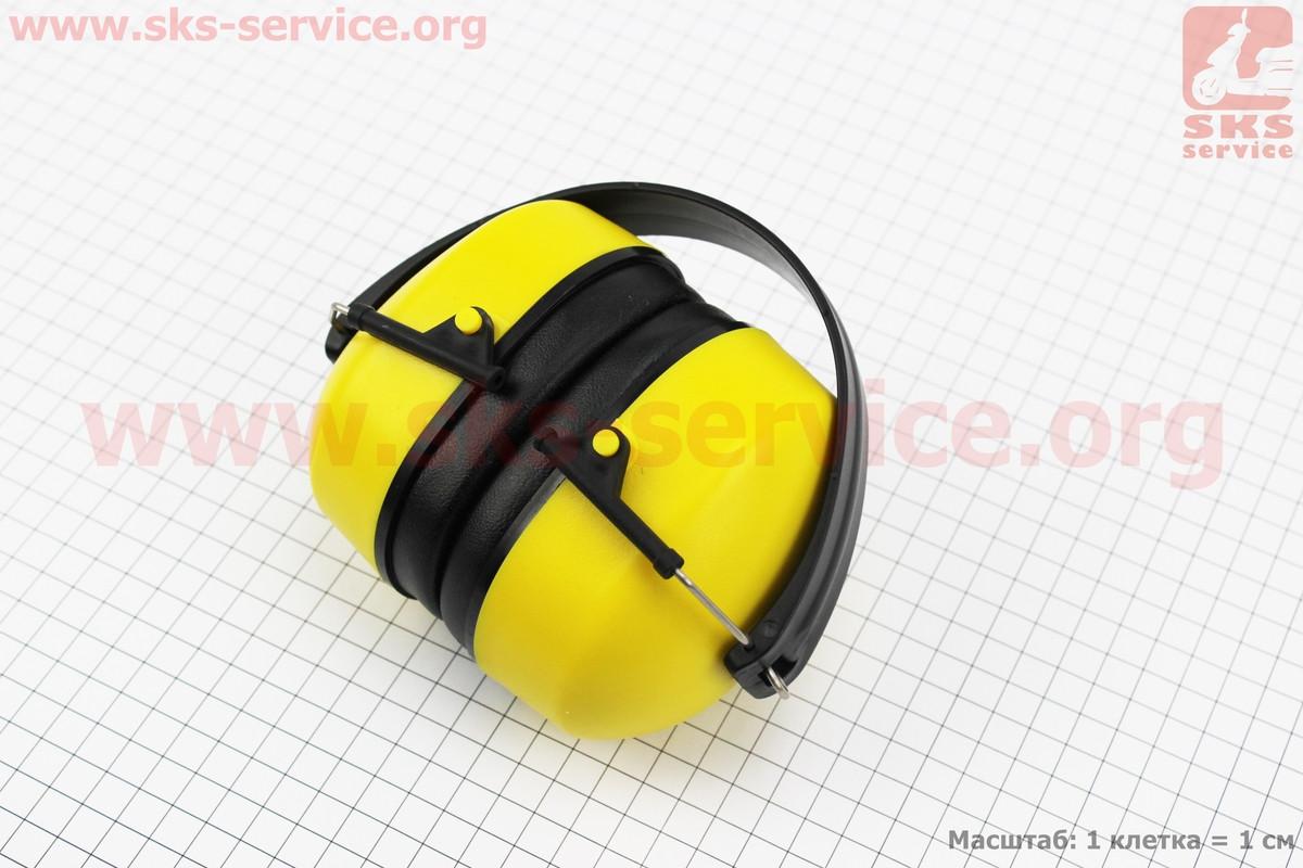 Навушники захисні E-2008A (зниження рівня шуму (SNR) в середньому на 27дБ) (201651)
