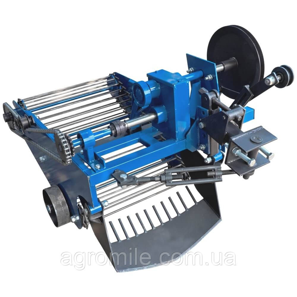 Картоплекопач вібраційний транспортерні (зі зміщенням причіпного) під мототрактор з гідравлікою Преміум