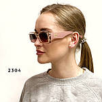 Трендовые солнцезащитные очки в розовой оправе, фото 6