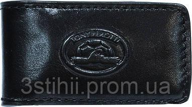 Затиск для грошей Tony Perotti Italico 1201-it nero Чорний