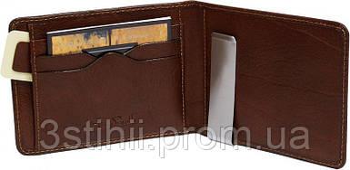 Затиск для грошей Tony Perotti Italico 2526-it cognac Коньяк