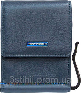 Затиск для грошей Tony Perotti New Contatto 3595-NC navy Синій