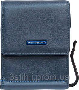 Зажим для денег Tony Perotti New Contatto 3595-NC navy Синий