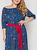 Длинное штапельное платье 52,54,56,58 размер, фото 10