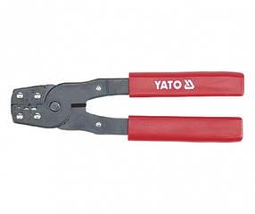 Кліщі для обтискача клем 180 мм YATO (YT-2255)