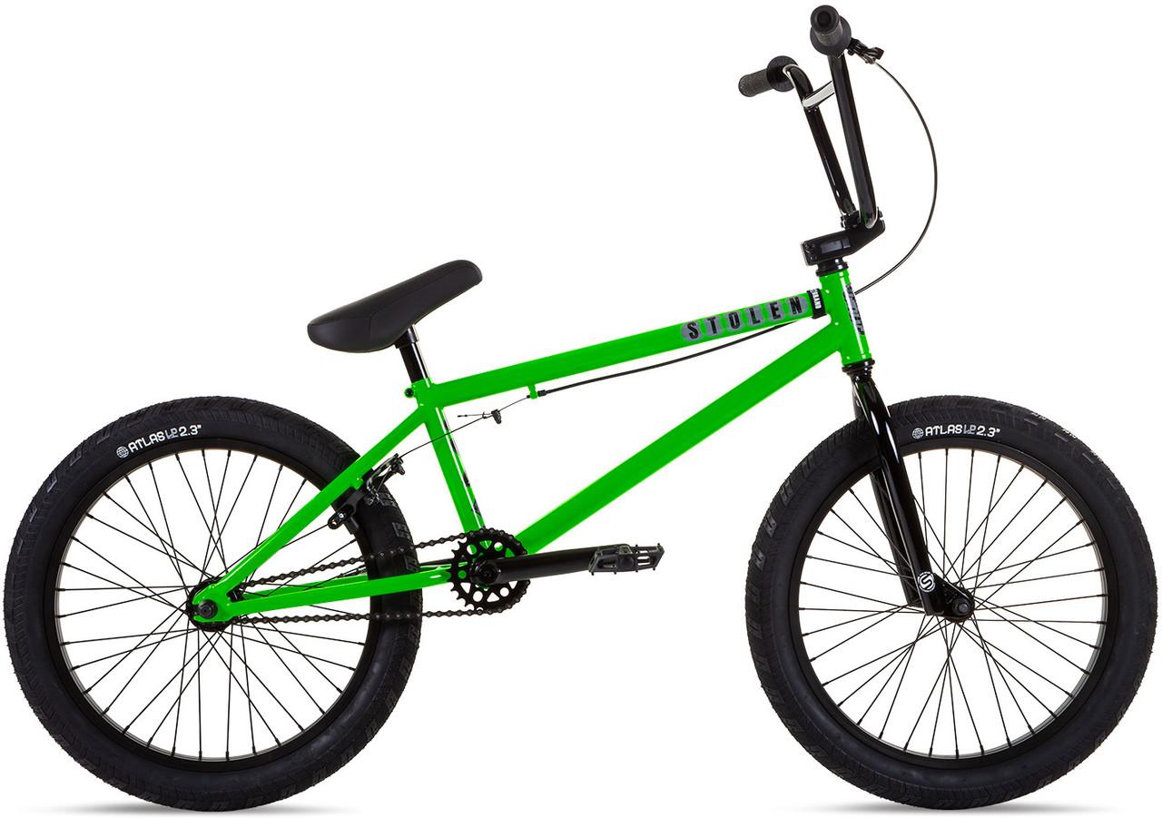 """Велосипед 20"""" Stolen CASINO XL 21.00"""" 2021 GANG GREEN"""