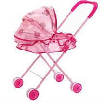 Детская коляска для кукол лежачая