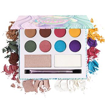 Палетка для макияжа глаз и лица Laura Sanchez Moods Eyeshadow and Highlighter Palette 18.6 г