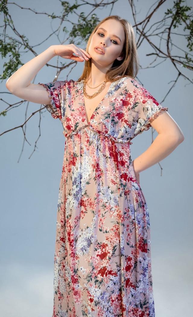 картинка свободное летнее платье