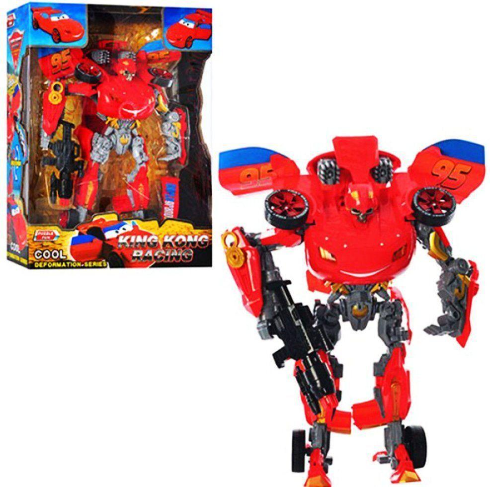 Трансформер-робот Тачки. Блискавка Маквин