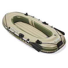 Надувная лодка Bestway 65051, 243-102-31 см