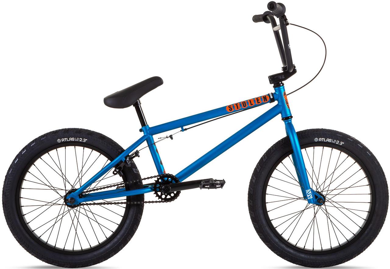 "Велосипед 20"" Stolen CASINO 20.25"" 2021 MATTE METALLIC BLUE"