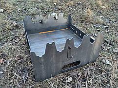 Мангал складной скаут 2 мм   8 шампуров