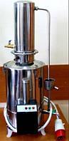 Лабораторный аквадистиллятор электрический из нержавеющей стали (10 литров) ДЭ-10  Дания